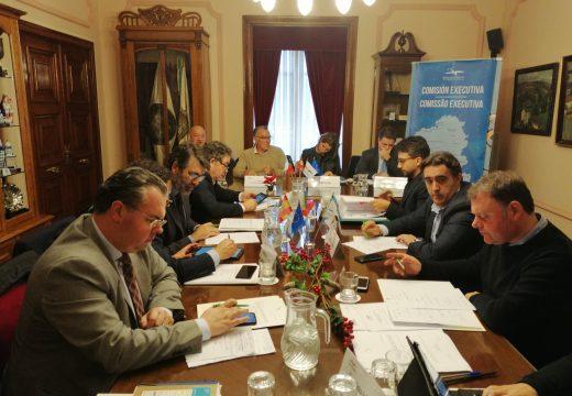 O Goberno local avanza na liña de ferrocarril A Coruña-Ferrol nunha comisión do Eixo Atlántico