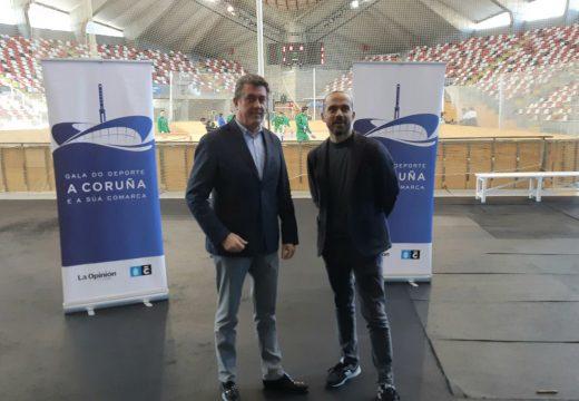 """Borrego resalta o nivel """"altísimo"""" dos e das deportistas coruñesas"""