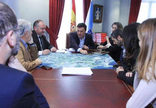 Asociacións de empresarios e veciños da Coruña solicitan o apoio da Deputación para reactivar o proxecto da Cuarta Ronda