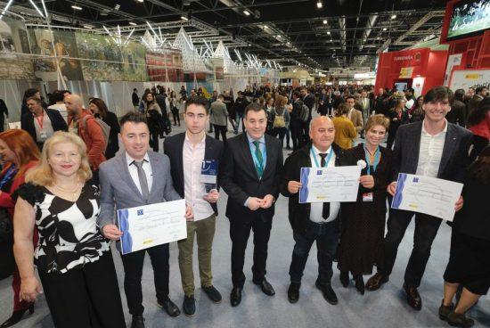 Román Rodríguez felicita ao destino as Mariñas Coruñesas e Terras do Mandeo na entrega dos recoñecementos SICTED 2019 en FITUR