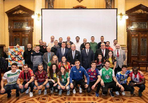 Lete Lasa valora a simultaneidade da Copa del Rey e a Copa de la Reina de Hóckey que levan á Coruña a súa 77ª e a súa 15ª edición respectivamente