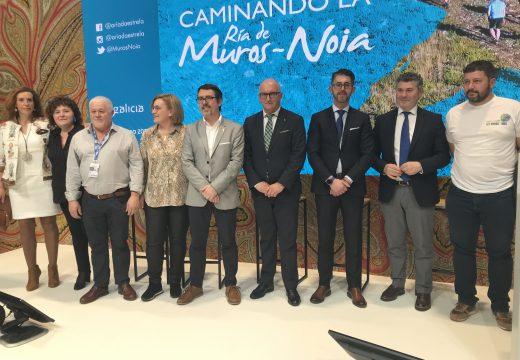 Ovidio Rodeiro presenta en FITUR a ría Muros-Noia como un destino que unifica os atractivos turisticos de Galicia ao redor do mar, a natureza, a historia e gastronomía