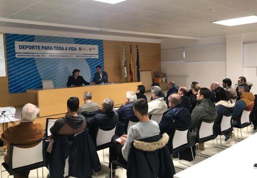 Lete Lasa asina os convenios de colaboración coas federacións deportivas galegas da área de Coruña que neste 2020 medran nun 2%