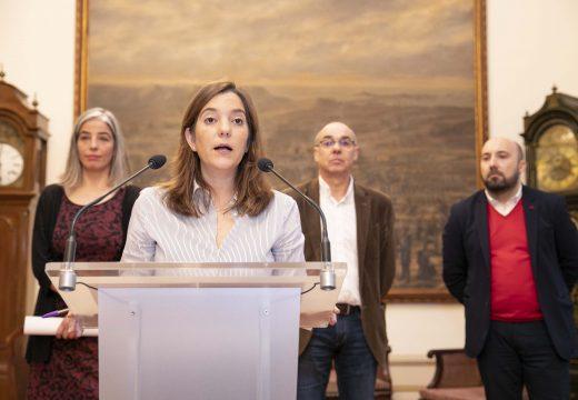 O Goberno municipal acorda con BNG e Marea un proxecto de orzamentos históricos