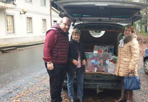 O Concello de Frades agradece a colaboración da veciñanza na campaña de recollida de alimentos de Nadal