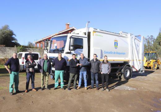 O Concello de Boqueixón adquire un novo camión para a recollida de lixo