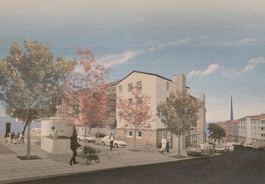 A reurbanización do espazo público do grupo de vivendas de María Pita garantirá a accesibilidade en todo o barrio