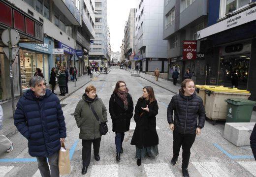 O Goberno local encarga o proxecto de peonalización definitiva para as rúas Alcalde Marchesi, Primavera e Compostela