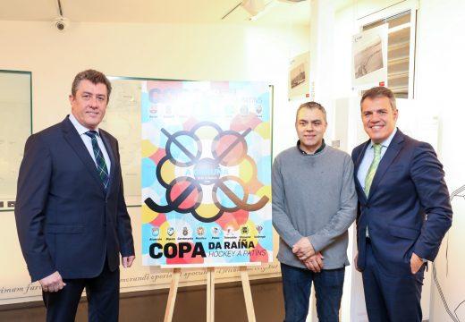 Antón Lezcano concentra a esencia circular do hóckey para o cartel da Copa do Rei e da Raíña