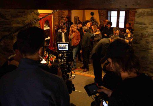 TVE estreará nestes días a serie «Néboa», filmada en localizacións da comarca
