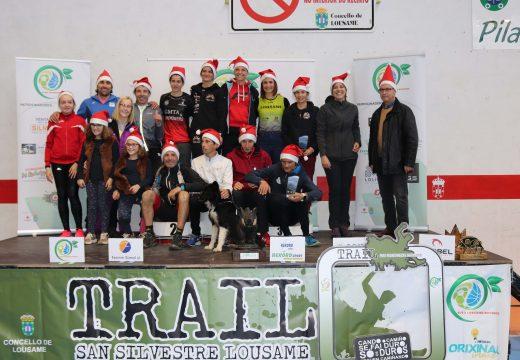 Luís Calvo Castro e Aroa Sío Recknold repiten vitoria no Trail San Silvestre de Lousame, no que participaron un total de 268 atletas