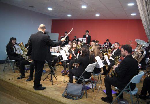 A Banda Xuvenil e a Banda de Música Isabel ll de Touro, protagonistas do Concerto de Nadal-Ano Novo
