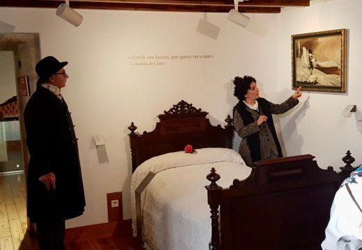 O Concello de Padrón retoma as visitas teatralizadas á Casa-Museo Rosalía de Castro todos os sábados de xaneiro e febreiro