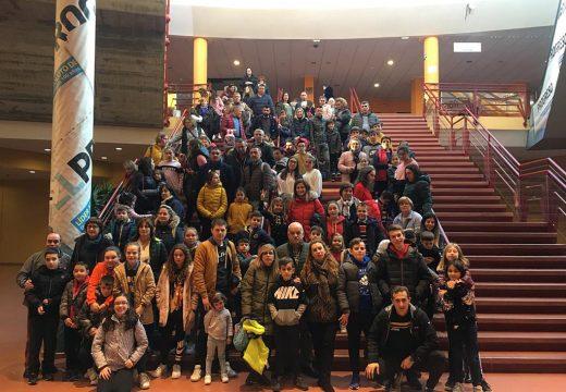 Novo récord de participación na clásica saída a Xuvenlugo: 120 veciños e veciñas de Frades