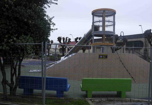 O renovado parque infantil do García Bayón abrirá o vindeiro mércores