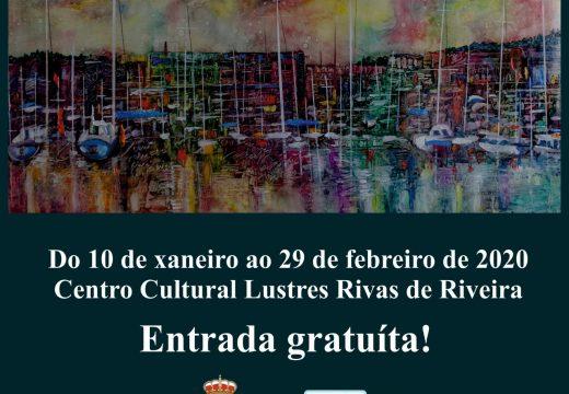 O artista noiés Manuel Romero amosará unha exposición retrospectiva no Centro Cultural Lustres Rivas de Riveira