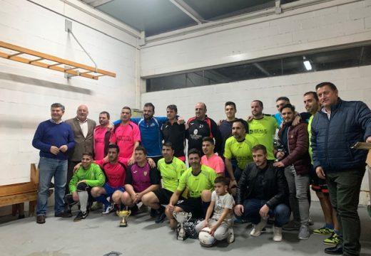 O Reale Lestedo alzase ca copa do Torneo Interparroquial de Futsal de Boqueixón
