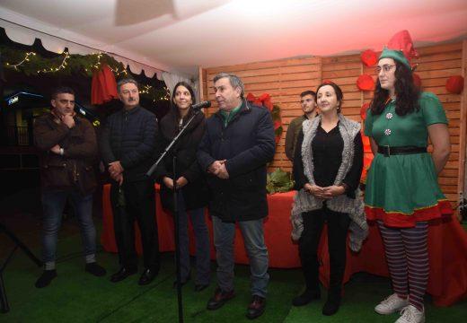 Inaugurado o Mercado de Nadal na Porta do Sol con 16 postos e unha zona infantil