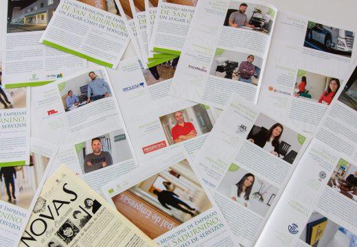 O Concello de San Sadurniño edita un folleto co catálogo de servizos do Centro Municipal de Empresas