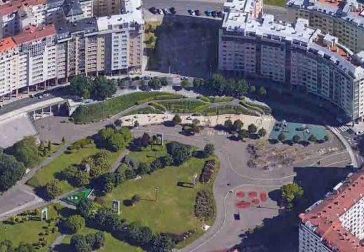 O Concello comeza as obras de mellora do parque infantil dos Rosales