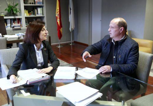 Medio Ambiente e concello de Vilarmaior avanzan nos trámites para poder colaborar na humanización da contorna da Casa da Cultura