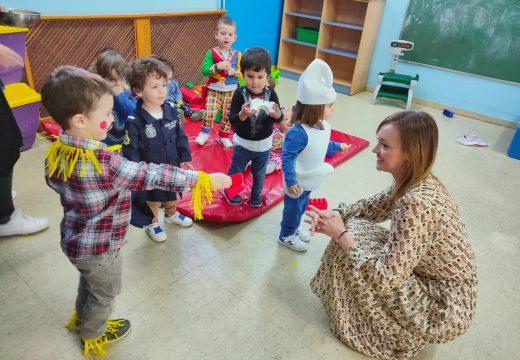 Fabiola García destaca a calidade da atención que reciben as nenas e nenos da Escola Infantil de Elviña