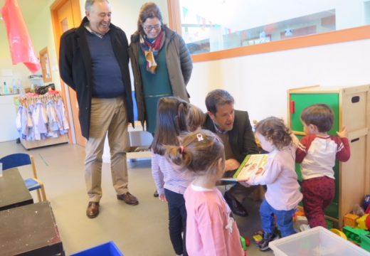 Política Social visita a Escola Infantil da Laracha que conta con todas as súas unidades en funcionamento