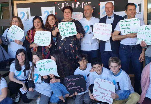 A Xunta clausura en Cambre a segunda edición de '21 días co galego e +'