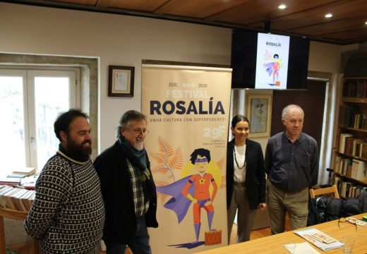 A Deputación da Coruña organiza o Festival Rosalía cunha xornada de actuacións e unha feira arredor da escritora