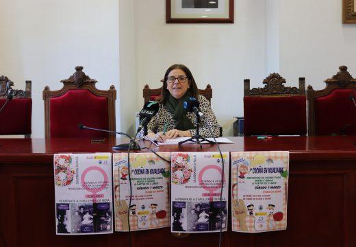 O Concello de Noia homenaxeará no Día da Muller a tres comerciantes do municipio: Lolita do Curro, Ramona de Tejidos Lamas e Isaura de Ultramarinos Isaura