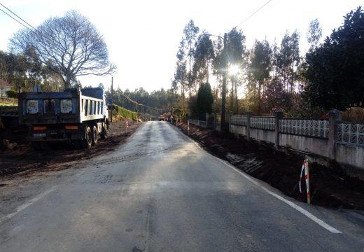 A Deputación comeza as obras de ampliación e mellora da DP 3903 en Vilarmaior