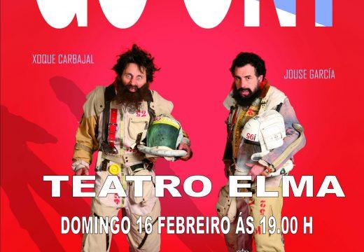"""No domingo 16 de febreiro ás 19.00 h no teatro Elma, a compañía de teatro Malasombra presenta """"GO ON!"""", unha comedia protagonizada por Xoque Carbajal e Jouse García e dirixida por Marcos Orsi."""