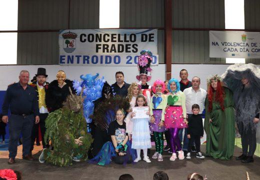 Máis de 600 persoas participaron na Festa e Concurso de Disfraces do Concello de Frades