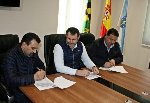 Os concellos e Ordes, Frades e Mesía asinan o convenio para a solicitude do «Obradoiro de Emprego Brañas do Illó-Río Samo II»