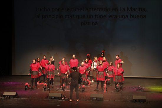 A comparsa Monte Alto a 100 gaña o concurso de comparsas na modalidade de música e letra