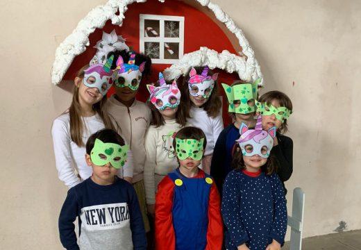 Os nenos e nenas do Lousame Concilia celebran obradoiros de antefaces e filloas