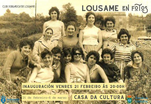 """O Club de Xubilados de Lousame organiza """"Lousame en fotos"""", unha exposición con máis de 100 fotografías antigas do municipio"""