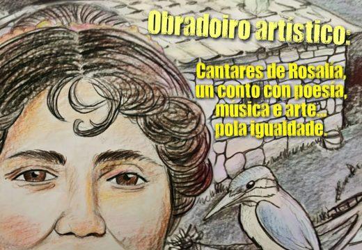O Concello de Lousame organiza este domingo un obradoiro artístico para conmemorar o Día de Rosalía de Castro