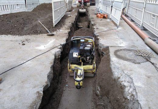 Infraestruturas inviste 275 mil euros en diversas actuacións na rede de saneamento na cidade