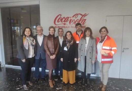 Rey destaca o valor estratéxico que supón para a cidade a presenza de Coca-Cola