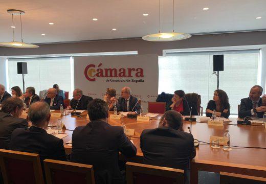 O concello participa na Comisión de Mobilidade da Cámara de Comercio de España