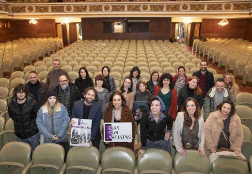 Elas Son Artistas levará arte en igualdade a oito concellos da Coruña