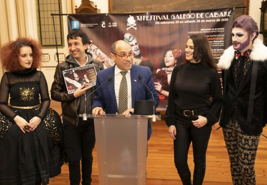 O Festival Galego de Cabaré volve á cidade con catro espectáculos que mesturan teatro, danza e música cun chisco de provocación