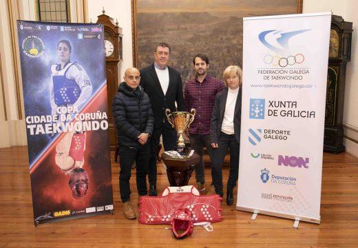 Máis de 500 deportistas participarán este sábado na XV Copa Cidade da Coruña de Taekwondo