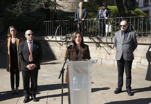 """Rey destaca os valores da Coruña como pobo que nunca """"se dobrega"""" con motivo do bicentenario do Trienio Liberal"""