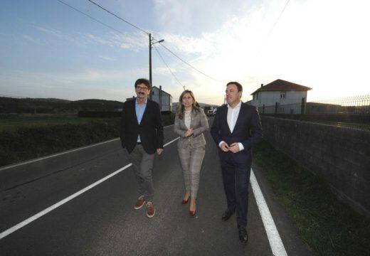 A Deputación acometerá a mellora integral da seguridade da estrada DP 9203 de Caxadas a Baíñas, en Vimianzo