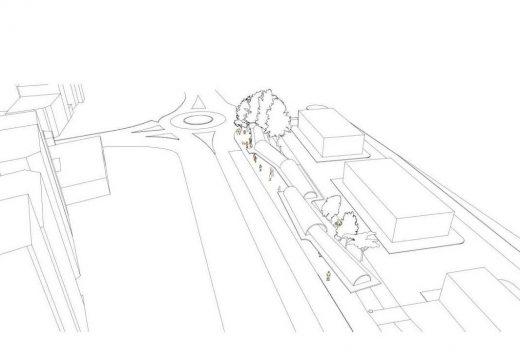 Aprobado o inicio da tramitación para contratar a construción da pérgola da nova estación de autobuses de Riveira