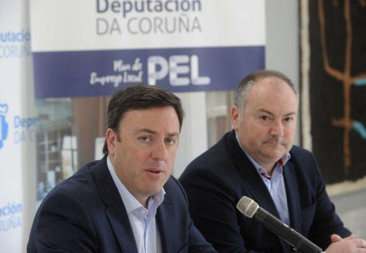A Deputación abre o prazo de presentación de solicitudes das axudas do Plan de Emprego Local (PEL-2020) para pemes e autónomos