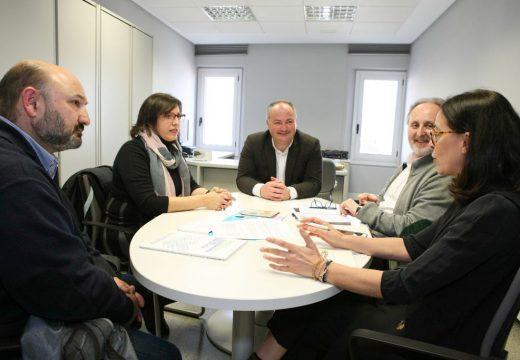 A Deputación e EspazoCoop (Unión de Cooperativas Galegas) valoran as posibilidades que ofrece a economía social para a xeración de emprego na provincia