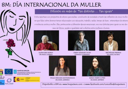 O CIM de Boqueixón elabora un documental con perspectiva de xénero con cinco protagonistas de distintas xeracións